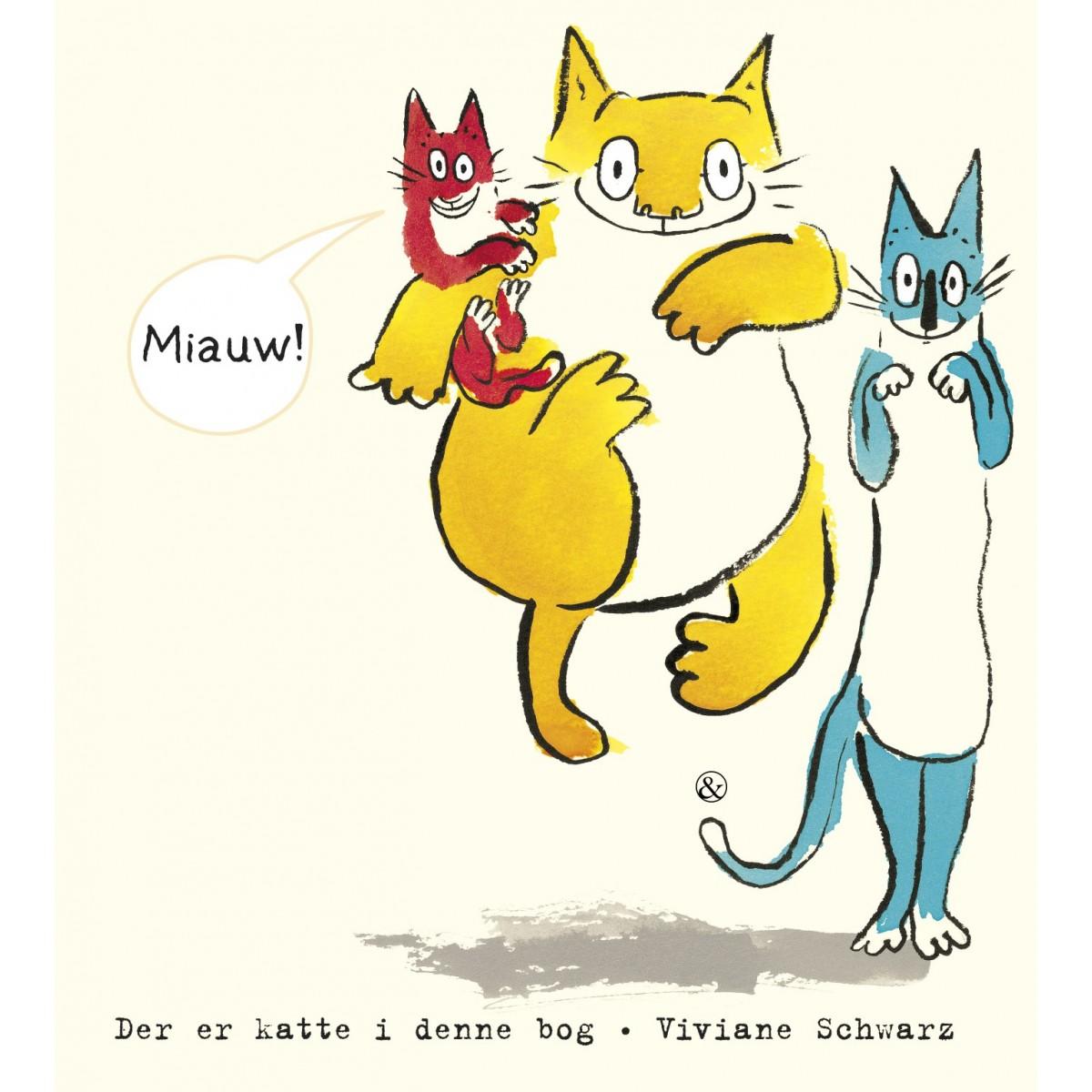 Viviane Schwarz: Der er katte i denne bog
