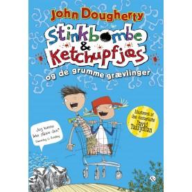 John Dougherty: Stinkbombe og Ketchupfjæs - og de grumme grævlinger