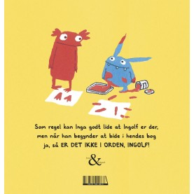 Daisy Hirst: Det er ikke i orden, Ingolf!
