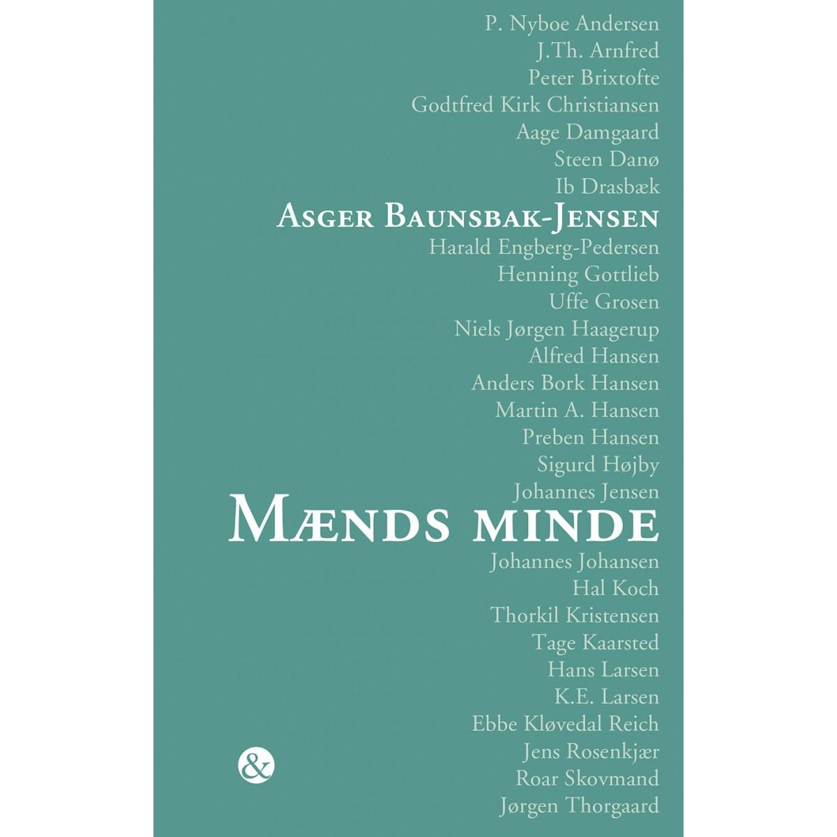Asger Baunsbak-Jensen: Mænds minde