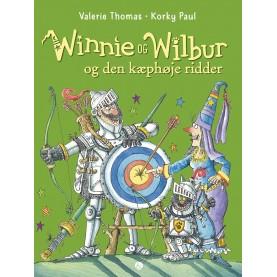 Valerie Thomas og Korky paul: Winnie og Wilbur og den kæphøje ridder