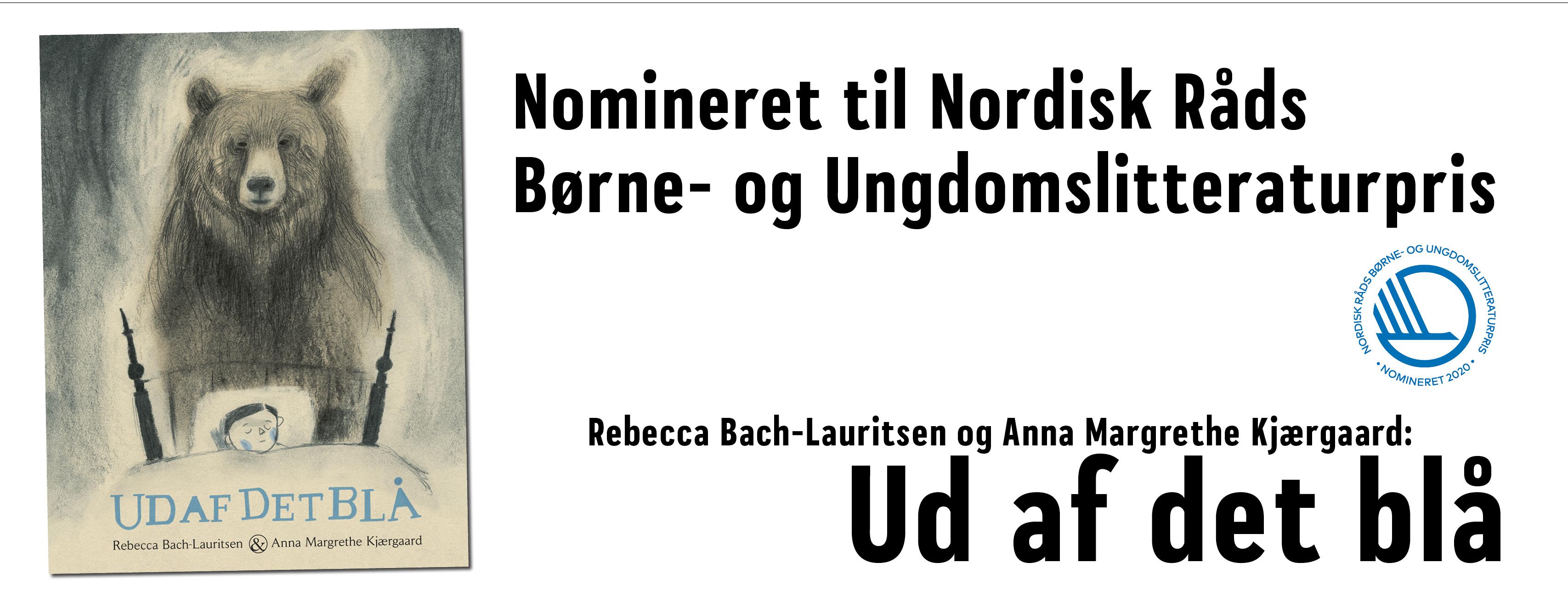 Nomineret til Nordisk Råds Børne- og Undgdomslitteraturpris